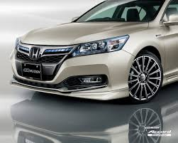 honda accord tuned honda accord hybrid lightly tuned by mugen