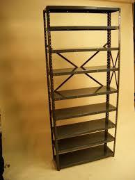 Industrial Metal Bookshelf Houston Shelving Industrial Metal Shelving