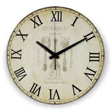 horloge cuisine cuisine grand décoratif horloge murale absolument silencieux maison