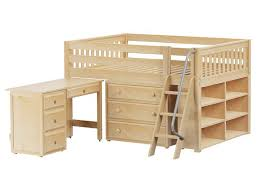 low loft bed full size home design styles