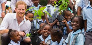 where does prince harry live prince harry visits antigua and barbuda the royal family