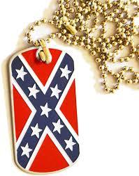 Confederate Flag And Union Flag Confederate Flag Dog Tag
