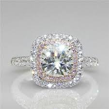 black and pink engagement rings pink diamond engagement ring ebay
