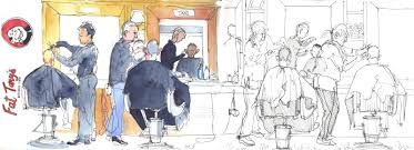 barbershop quartet sketching people in motion urban sketchers
