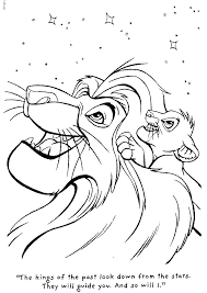 20 lion king images coloring
