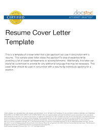 Example Cover Letter For Resume General by Cover Letter For Any Job Position