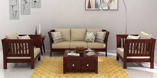 Buy A Sofa Wooden Sofa Sets Online Buy Solid Wood Sofa Set Upto 70 Off