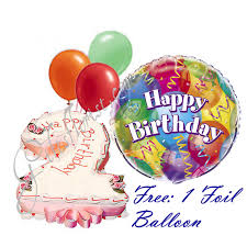 deliver birthday cake and balloons flowers and gifts delivered in singapore number cake birthday