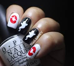 nail loopy ghostbusters halloween nails