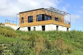interieur maison bois contemporaine maison eko architecte maison bois à lyon