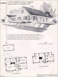 cape home plans 1955 national plan service cape cod colonial midcentury