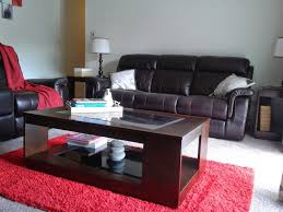 what color carpet goes with brown leather furniture carpet