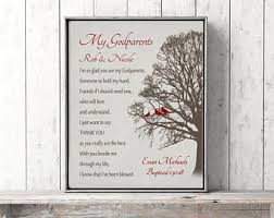 Gift Tree Free Shipping Godparents Gift From Godchild Free Shipping Personalized God