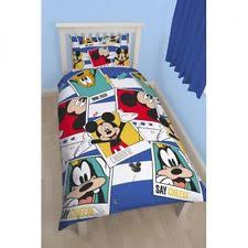 Mickey Duvet Cover Mickey Mouse Bedding Ebay