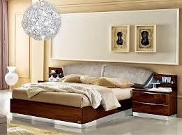 italian platform bed ef donna walnut