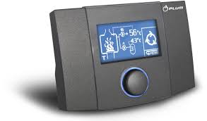wall mounted heating controller for fireplaces ecokom 200