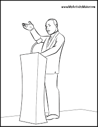 Martin Luther King Jr Pictures To Color 408051 Dr Martin Luther King Jr Coloring Pages