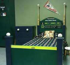 Baseball Bed Frame Crafted Baseball Bed By Wwbeds Custom Furniture Custommade