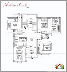 1000 square feet house plan and elevation two bedroom house plan
