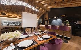 luxury ski chalet chalet elbrus zermatt switzerland