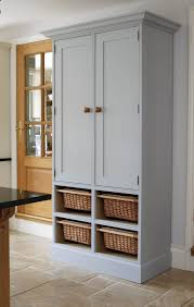 free standing kitchen pantry furniture wall coverings decor ideas