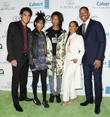 will smith and his family at the ema awards 2016 popsugar