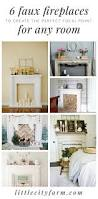 6 faux fireplace styles to create the perfect focal point faux