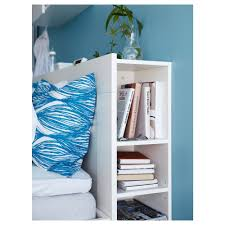 Headboards For Beds Ikea by Brimnes Headboard With Storage Compartment White Standard Double
