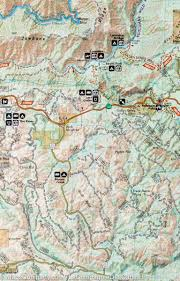 Matthiessen State Park Trail Map by Trail Map Of Merced And Tuolumne Rivers Stanislaus National