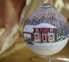 painted custom ornaments from photo gift ideas