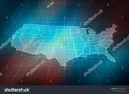 Us Maps With States Us Map Outline Map States Digital Stock Illustration 457773940