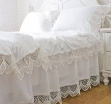 White Ruffle Bed Skirt Compare Prices On White Ruffle Twin Bedding Online Shopping Buy