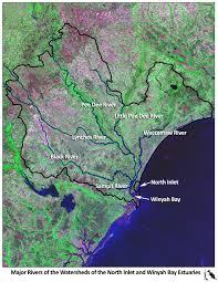 Map Of Kiawah Island Reserve Maps And Images North Inlet Winyah Bay National Estuarine
