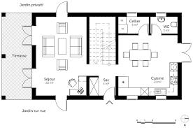 plan de maison a etage 5 chambres plan maison 5 chambres