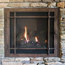 image of gas fireplace doors ideas