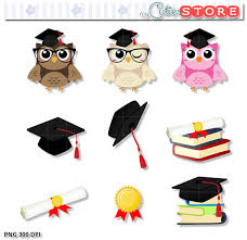 graduation owl graduation owl clipart set digital clip set set for