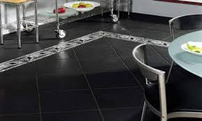 black kitchen tile 2016 black kitchen floor tiles are set on an