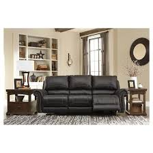 Signature By Ashley Sofa by Milhaven Reclining Sofa Signature Design By Ashley Target