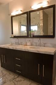 Framed Bathroom Vanity Mirrors by Espresso Bathroom Vanity Design Ideas