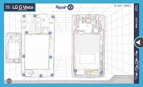 repair x lg g vista repair guide magnetic screwmat