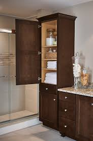 bathroom linen closet ideas miraculous linen closet cabinet aristokraft cabinetry of