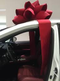 new car gift bow we re gonna need a bigger bow ny daily news