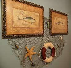 Tropical Bathroom Accessories by Choosing Fish Wall Decor For Bathroom Jeffsbakery Basement