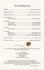 wedding church programs fall wedding program autumn theme church program fall wedding