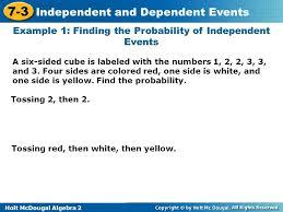 worksheet 11401394 independent and dependent events worksheet