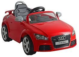 audi car wheels black friday amazon amazon com kid motorz audi tt rs red one seater car red toys