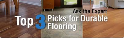 ask the expert top 3 options for durable flooring