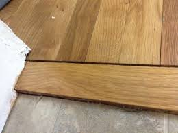 laminate flooring threshold gap