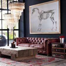 Best  Red Leather Sofas Ideas On Pinterest Red Leather - Leather chairs living room