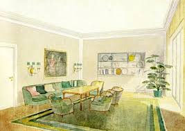 1930s House Interior Design Color By Decade The 1930s Apartment Therapy